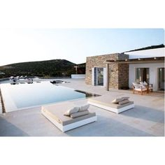 Ibiza villa design inspiration by COCOON Villa Design, Design Design, Conception Villa, Location Villa, Ibiza Fashion, Mediterranean Homes, Stone Houses, Exterior Design, Modern Exterior