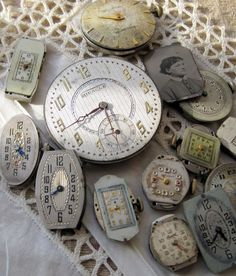 old watch works