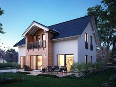 Fertighaus mit Satteldach -  Einfamilienhaus Lifestyle 9 - massa haus
