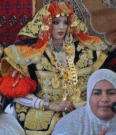 Africa | Bride from Mahdia, Tunisia. | © Edith D, via EthnicJewels.