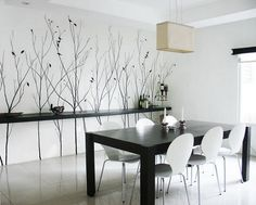 Décor For Formal Dining Room Designs | Luxury Dining Room, Wooden Dining  Tables And Window Glass