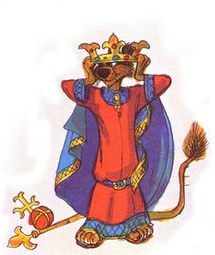 Robin Hood character design by Ken Anderson