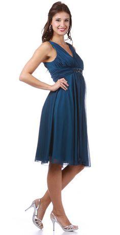 Maternity Bridesmaid Dresses-Olivia