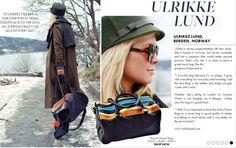 Ulrikke Lund, Roque travel bag