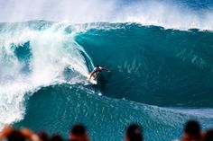 Riding on the margin where there is no room for anything other than perfection of mind, body, board and wave….incredible.