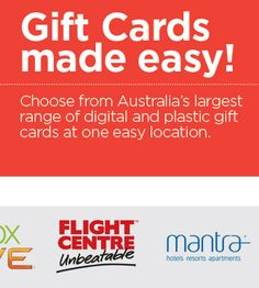 #GiftCards #Gifts Need a gift card? The easy way to buy from a huge range of Australia's largest stores, in one location at http://mother-gifts.net/mother-gifts-discounts-and-promotions