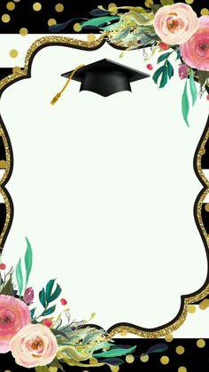 Te invito a Mi Graduación que será efectuaduo el dia Viernes 02 de Agosto de 2019. Hora : 9:00am  Lugar: Escuela Básica Tomas Zerpa  ¡¡¡ TE ESPERAMOS!!!! Graduation Clip Art, Graduation Templates, Graduation Stickers, Graduation Decorations, Graduation Party Decor, Graduation Cards, Graduation Invitations, Graduation Drawing, Graduation Wallpaper