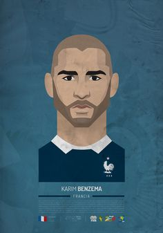 Benzema BRAZIL 2014 Stars! on Behance