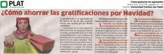 Universidad Católica San Pablo: Como gestionar las gratificaciones en Diario Uno de Perú (21/12/16)