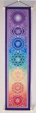 Chakra Banner. click to buy