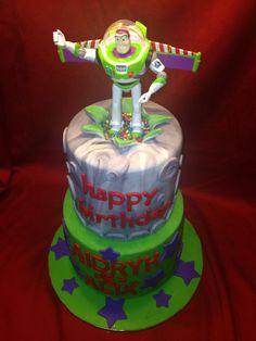 Buzz Lightyear Cupcake Cakes, Cupcakes, Buzz Lightyear, Custom Cakes, Christmas Ornaments, Holiday Decor, Happy, Personalized Cakes, Xmas Ornaments
