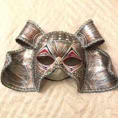 Samurai warrior mask, samurai costume mask, venetian mask, handmade, japanese mask, asian mask, samurai helmet, warrior mask, samurai mask by EthnicDrops on Etsy https://www.etsy.com/listing/571541465/samurai-warrior-mask-samurai-costume
