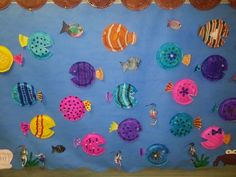 Under the Sea paper plate crafts