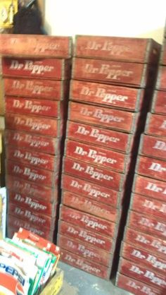 Dr Pepper crates? Yes Please!
