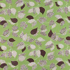 Leaf Dot Green ~ Flea Market Fancy @Sew,Mama,Sew