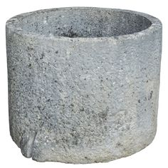 Round Limestone Olive oil Container