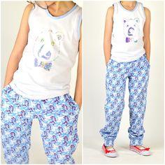 lillesol & pelle Schnittmuster/ pattern: Sommerhose / summer pants