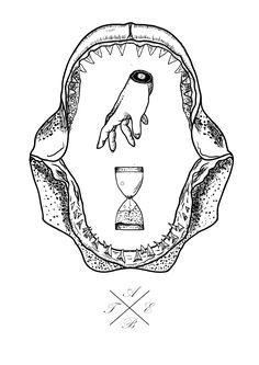 Sharkjaw drawing