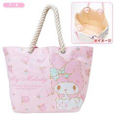 My Melody Rope Handle Strap Tote Bag Doll SANRIO JAPAN-01