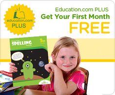 Education.com Free Month Trial