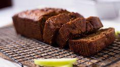 Great baking video, How to make Gluten Free Cinnamon Apple Walnut Bread.