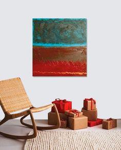 "APACHE original contemporary painting 30"" x 30"" #fine_art #painting #home_decor"