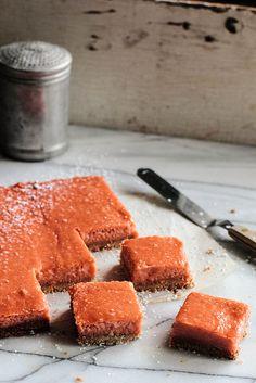 Rhubarb Ginger Bars   Pastry Affair