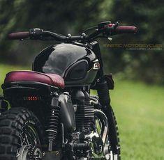 doyoulikevintage: Triumph custom Cafe Racer - Cabeça Motorizada