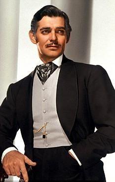 """Frankly, My Dear, I don't give a damn!"" Clark Gable as Rhett Butler, GONE WITH THE WIND"