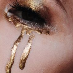 Golden tears.