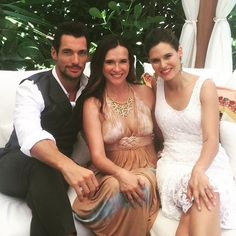 David Gandy & Bianca Balti in Miami on July 9, 2015. http://ift.tt/1HQxtpm