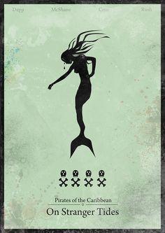 Pirates of the Caribbean - minimalist poster   Tumblr