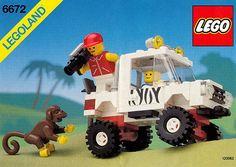LEGO set database: 6672-1: Safari Off-Road Vehicle