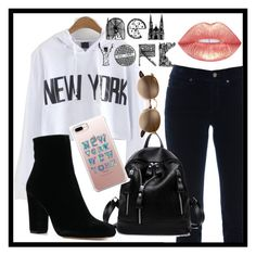 """""""NYC"""" by nadsshoes ❤ liked on Polyvore featuring Cambio"""