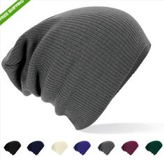Knitted Oversized Slouch Baggy Winter Warm Beanie Hat