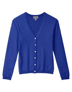 Cashmere V Neck Cardigan , Cashmere Cardigan , Pure Collection