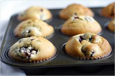 Blackberry Muffins | Blackberry Muffins Recipe | Easy Asian Recipes at RasaMalaysia.com