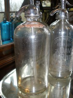 Vintage Seltzer Bottle from Brooklyn by TheMantiquesStore on Etsy, $35.00