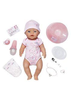 Füttern, waschen, wickeln: Baby Born lässt die Herzen kleiner Puppeneltern höher schlagen