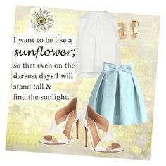 """love the quote"" by ilmadhinautari on Polyvore featuring Chicwish, Gianvito Rossi and Isabel Marant"