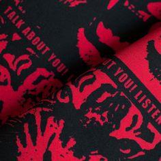 モダンデザインのインテリアファブリック/Talk about YOU!/SP FABRIC × RECORDS Fabric, Tejido, Tela, Cloths, Fabrics, Tejidos