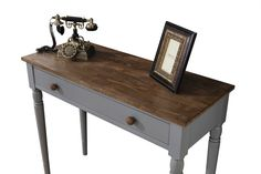 Consola Marine Gri/Nuc Best Sellers, Entryway Tables, Shabby Chic, Furniture, Home Decor, Decoration Home, Room Decor, Home Furnishings, Home Interior Design