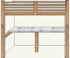 How to build Loft Bed Desk Plans PDF woodworking plans Loft bed desk plans How to build a DIY loft bed with play table and Ikea Trofast storage free plans and tutorial A big desk and a Bed Desk, Loft Bed Plans, Diy Wood Projects Furniture, Woodworking Plans Diy, Bunk Beds With Stairs, Woodworking Desk Plans, Loft Plan, Build A Loft Bed, Kids Loft Beds