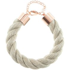 Stardust Bracelet ($20) ❤ liked on Polyvore featuring jewelry, bracelets, accessories, adjustable rope bracelet, twist jewelry, adjustable cord bracelet, cord bracelet and twisted rope bracelet