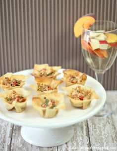 Party Appetizer – Spicy Chicken Cups — Celebrations at Home