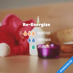 Re-Energize - Essential Oil Diffuser Blend