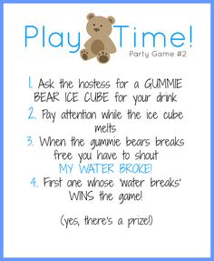 High Quality Free Baby Shower Games Printouts | Kiddo Shelter