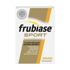 FRUBIASE SPORT effervescent tablets 20 pc minerals, vitamins UK