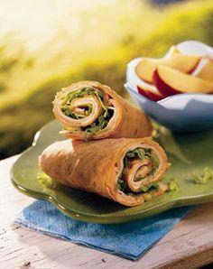 Turkey-Cheese Wraps Recipe