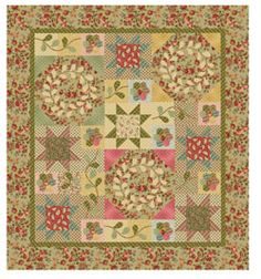 Windham Wellsley Quilt Pattern Lisa DeBee Schiller at Hancocks.Paducah.com  Free Pattern
